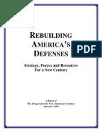 Rebuilding Americas Defenses - PNAC