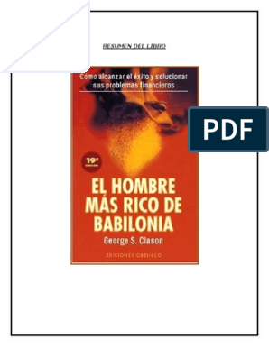 el hombre mas rico de babilonia libro completo pdf descargar