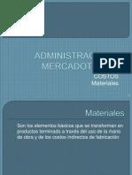 costos materiales