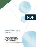 TECNOLOGÍA Y SU HISTORIA