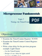 Topic 7 Timing the TimerCounter