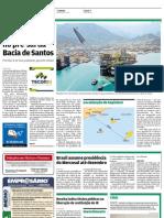 Petrobrás faz nova descoberta no pre-sal em Santos
