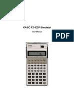 FX 602P Simulator