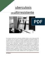 Tuberculosis Multirresistente