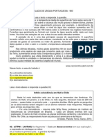 SIMULADO DE LÍNGUA PORTUGUESA 900 3 etapa