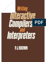 Writing.interactive.compilers.and.Interpreters Brown