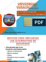 Alternativas Para La Seguridad Electronica