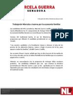 09-06-12 Trabajarán Marcela e Ivonne por la economía familiar
