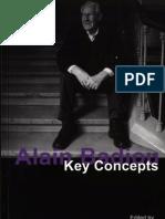 Alain Badiou Key Concepts