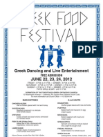 Greek Food Festival 2012
