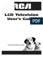 Rca 32 Hdtv Manual