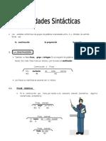 IV Bim. 5to. Año - LENG. - Guía Nº 1 - Unidad Sintácticas