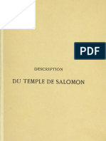 description du temple de saloman