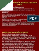 MODELO DE ATENCIÓN DE SALUD (MAIS)