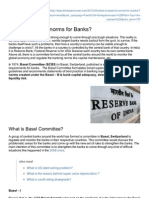 What is BaselIII Norms for Banks