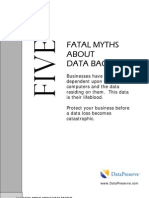 Five Fatal Myths
