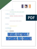 Riesgos Electricos y Mecanicos