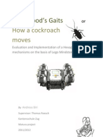 A Hexapod's Gaits - How a cockroach moves