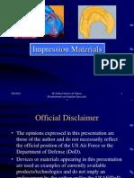 Impression Materials 2