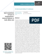 Effect of PUFA from fish oil on lipid metabolism of heart in streptozotocininduced diabetes in male albino rats