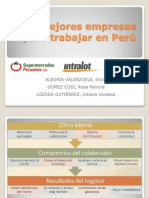 Las mejores empresas para trabajar en Perú