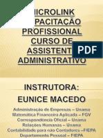 1º modulo - Curso Aux.Administrativo 1