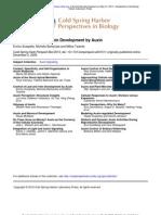 Scarpella Et Al - Control of Leaf and Vein Development by Auxine