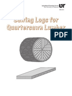How to Quarter Sawn