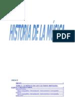 Temario Historia