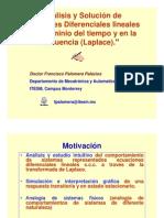 EDO Laplace Tiempo 14042009
