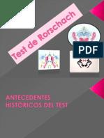Test de Rorschach Expo
