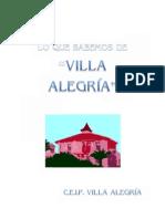 Villa Alegría en San Pedro del Pinatar