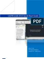 Cadworx 2013 Quick Start Guide