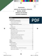 OREGON_Pulsómetro con Medicion de Velocidad y Distancia_SE300_M_ES_OP