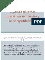 Tipos de Sistemas Operativos Existentes y Su Compatibilidad