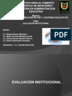 4 sesion EVALUACION INSTITUCIONAL