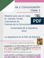 Clase 1 - La Ciencia Economica - 2010