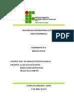 Relatório 01 - Medidas Físicas