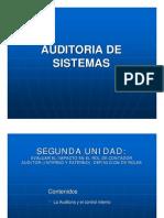 Auditoria Sistemas Segunda Unidad