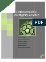 Ensayo_La Importancia de La Investigacion Cientifica