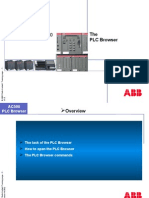 AC500 PLC Browser