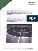 Carta Al Patronato de Deportes