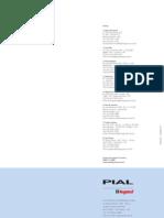 Catalogo Plugues e Tomadas - Pial Legrand