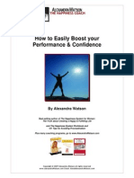 Alexandra Wilson How to Boost Your Confidence