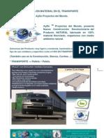 Publi_noticia en Material de Palet Natural_ Transporte Aydoagua
