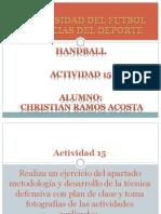 Actividad 15 Handball