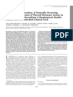 Carnitina e Hipertiroides