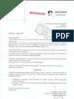Lettera al Presidente del Consiglio Comunale di Pantelleria