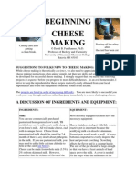 Cheese Making 101