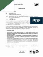 Circular Retiro de Recursos FONPET - Decreto 2948 de 2010